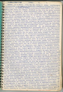 First Page of Rabito's Typescript.